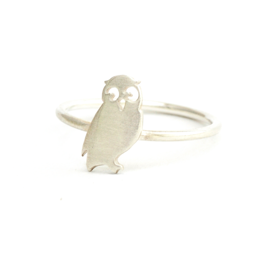 Owl Silver Ring | Accessories | Tundra | [product_tag] - Fair Bazaar Ethical Living
