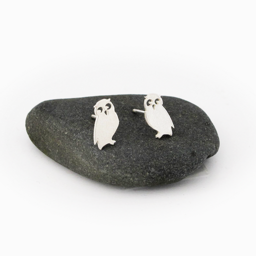 Owl Silver Earrings | Accessories | Tundra | [product_tag] - Fair Bazaar Ethical Living