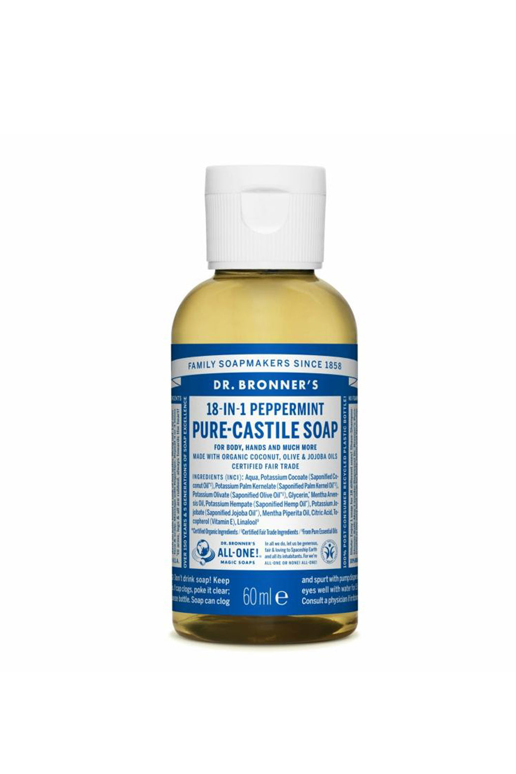 Pure Castille Soap 60 ml