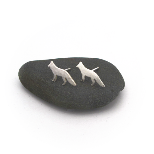 Fox Silver Earrings - Fair Bazaar Ethical Living