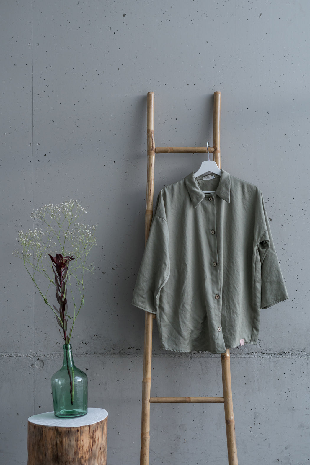 Lyocell Shirt | Green