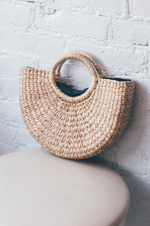 Hyacinth Woven Bag | Small | Accessories | Above Studio | [product_tag] - Fair Bazaar Ethical Living