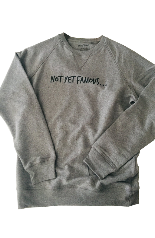 Organic cotton Sweatshirt | T-shirts & Sweatshirts | Not Yet Famous | [product_tag] - Fair Bazaar Ethical Living