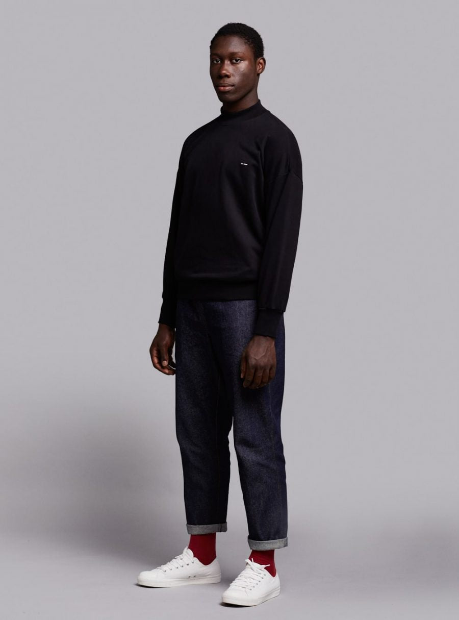 Mock Neck Sweatshirt