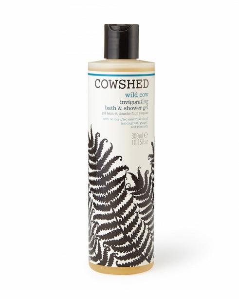 Invigorating Shower Gel | Wild Cow | Beauty | Cowshed | [product_tag] - Fair Bazaar Ethical Living