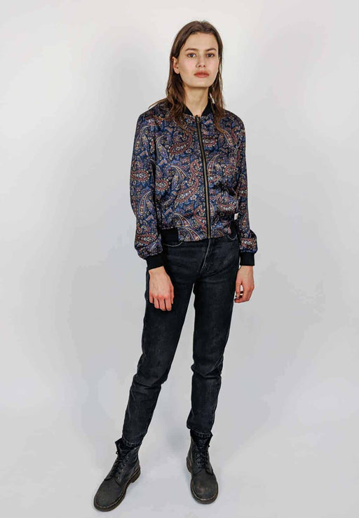 Reversible Bomber Paisley | Coats & Jackets | Malimo | [product_tag] - Fair Bazaar Ethical Living