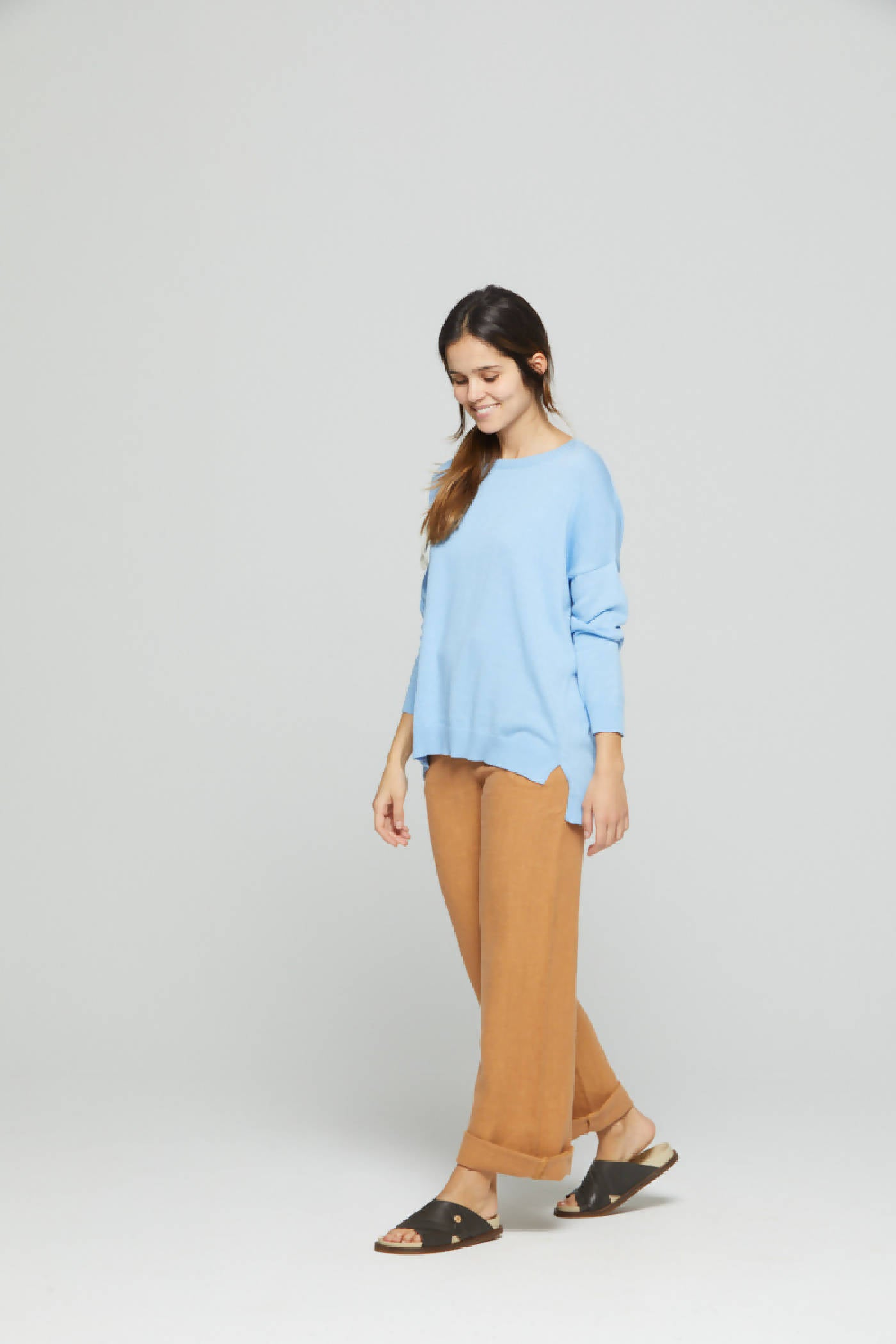 Sweater Anne Brunnera Blue