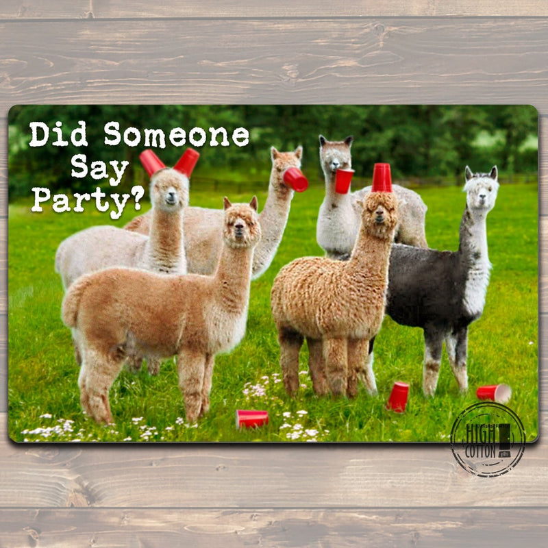 Did Someone Say Party Floor Mat Doormats