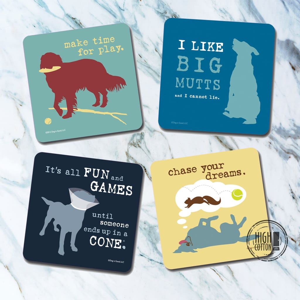 Dog Is Good® Coaster Assortment Coasters