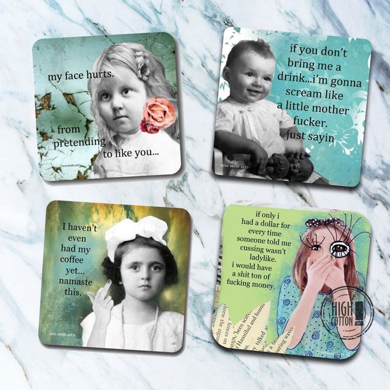 Erin Smith Art® Coaster Assortment Coasters