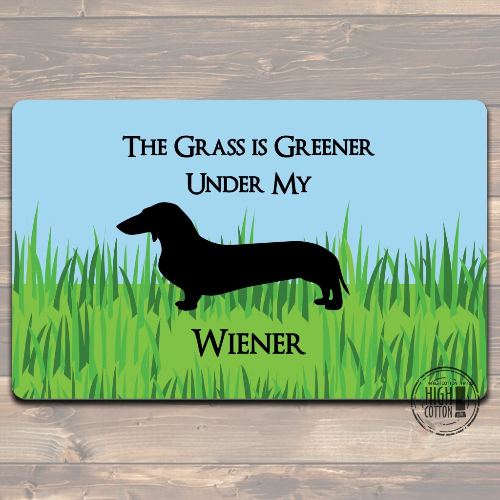 Grass Is Greener Felt Floor Mat Doormats
