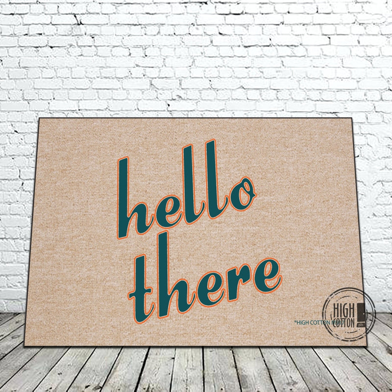 Hello There - Doormat Doormats