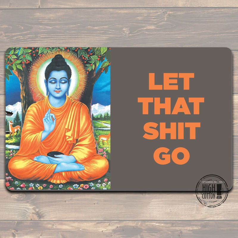 Let That Shit Go Felt Floor Mat Doormats