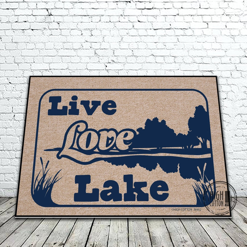 Live Love Lake Doormat Doormats
