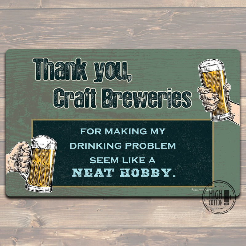 Thank You Craft Breweries Floor Mat Doormats
