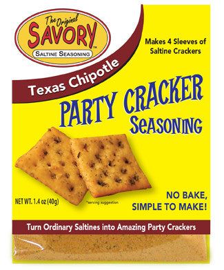 Texas Chipotle Savory Saltine Seasoning