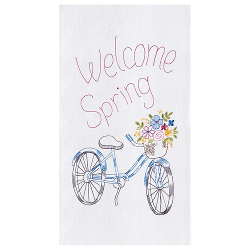 Welcome Spring Towel
