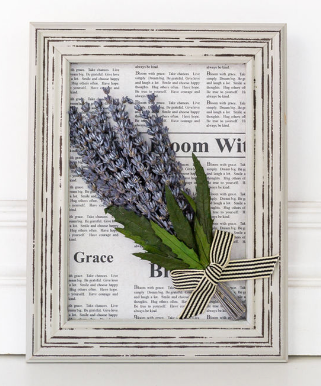 **NEW** Framed Lavender