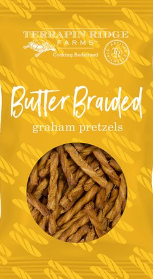 Butter Braided Pretzel Twists