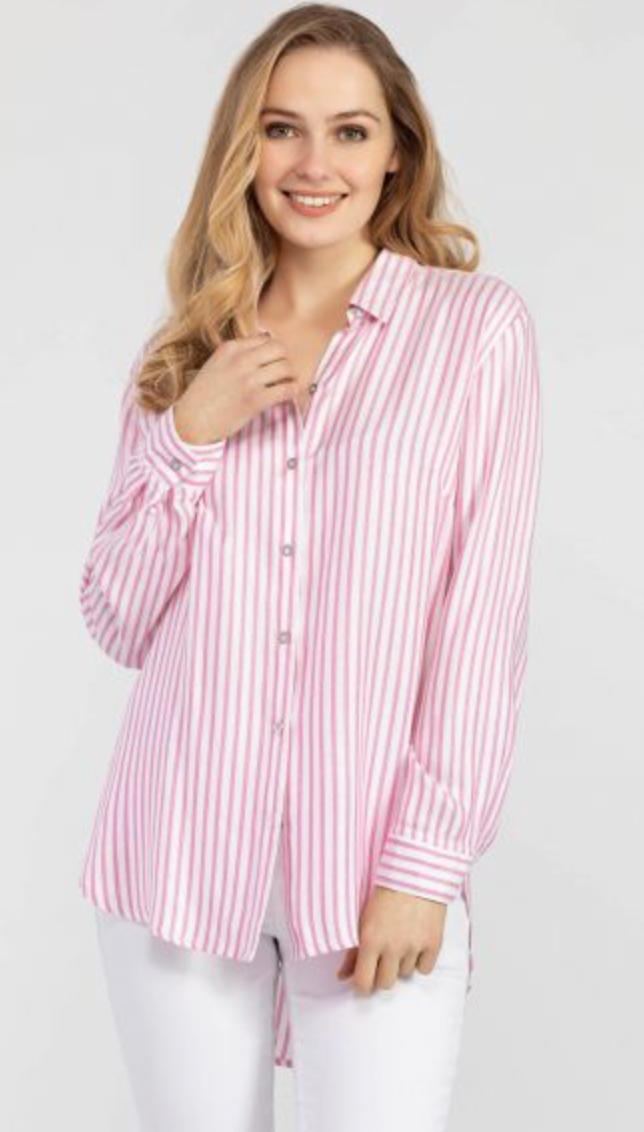**NEW** Striped Loose Fit Shirt