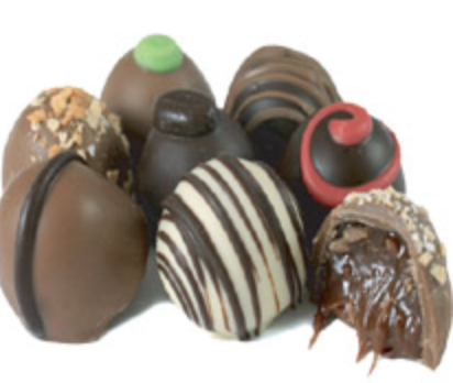 Box of 16 Gourmet Chocolate Truffles