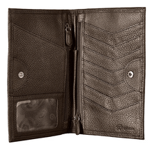 Brighton Ferrara Folio Wallet - Pewter