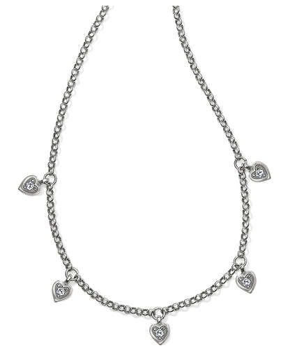 Brighton Meridian Love Notes Station Necklace