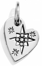 Brighton Pole Star Heart Charm Amulet