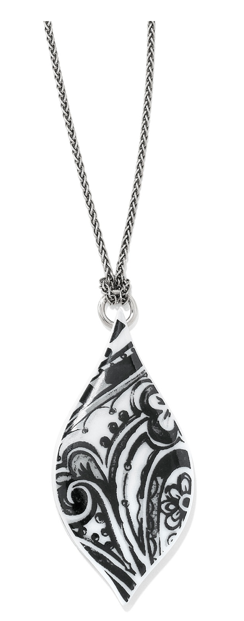 Brighton Casablanca Tile Teardrop Necklace