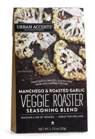 **NEW** Manchego & Roasted Garlic Veggie Roaster Seasoning Blend
