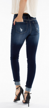 KanCan High Rise Button Fly Ankle Skinny Jeans (KC6192D)