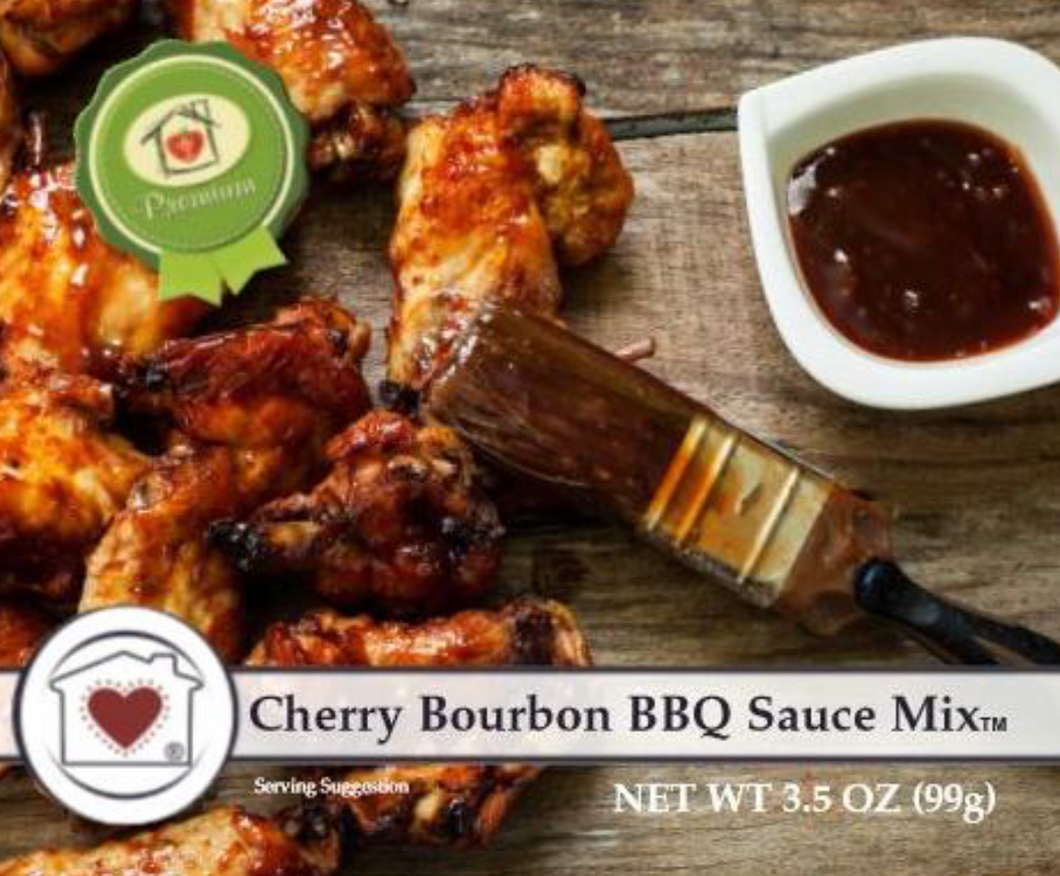 Cherry Bourbon BBQ Sauce Mix