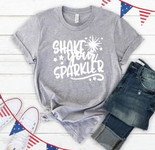 **NEW** Shake Your Sparkler (in Red) Tee