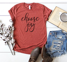 Choose Joy (in Yellow) Tee