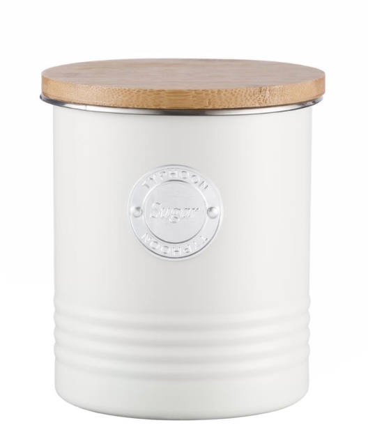 Living Sugar Canister in Cream