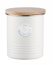 Living Tea Canister in Cream