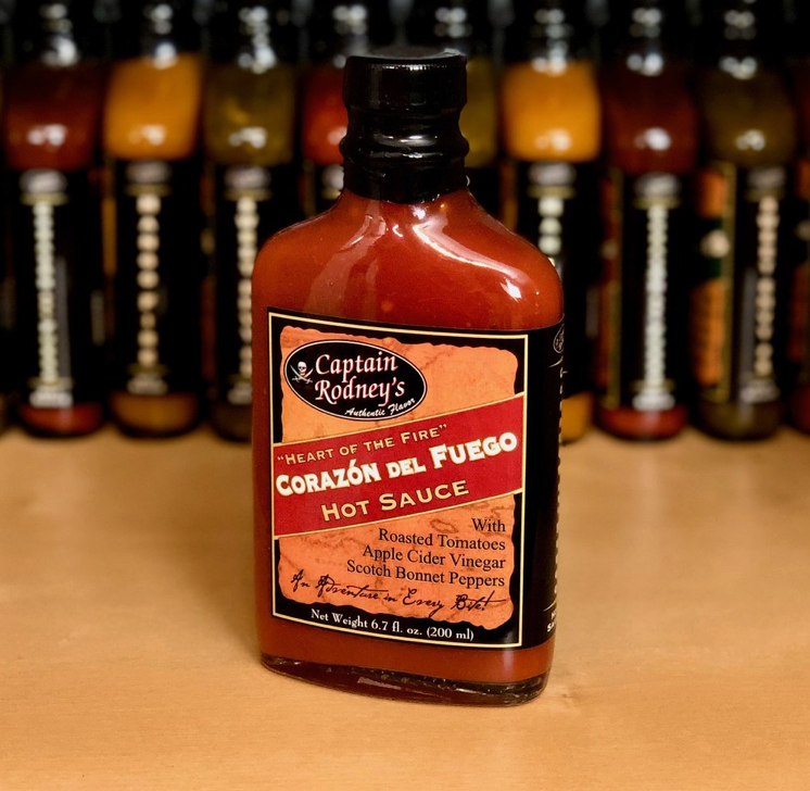 Corazon Del Fuego Hot Sauce