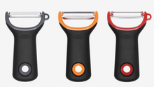 3 piece Prep Peeler Set, Assorted Blades