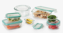 16 Piece Smart Seal Glass Container Set