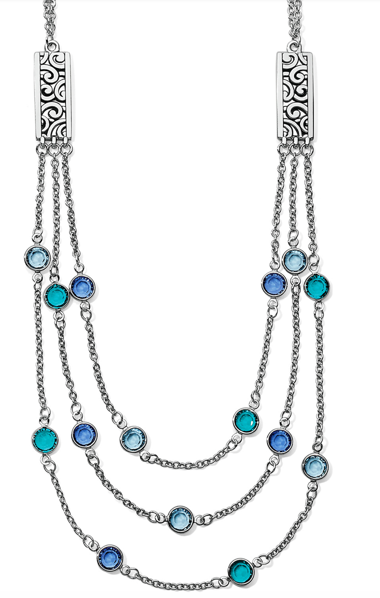 Brighton Elora Gems Blues Layer Necklace