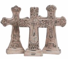 Decorative Cross with Base 8.5""