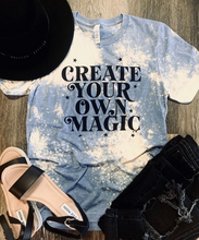 Create Your Own Magic Bleach Distressed Tee