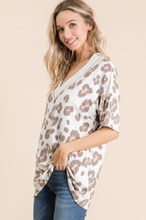 V-Neck Leopard Top