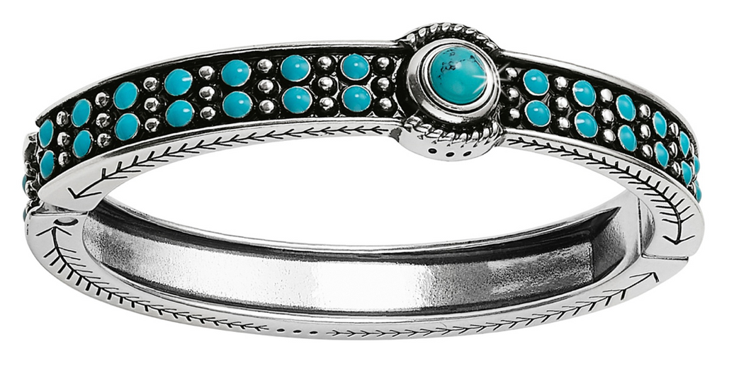 Brighton Southwest Dream Trail Hinged Bangle Bracelet