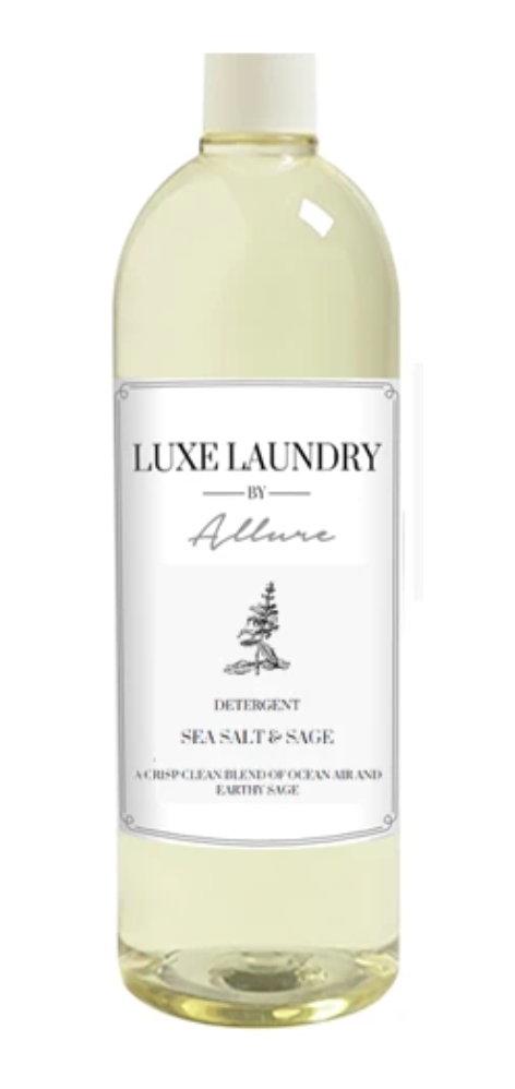 Allure Luxe Detergent Sea Salt & Sage 32oz.