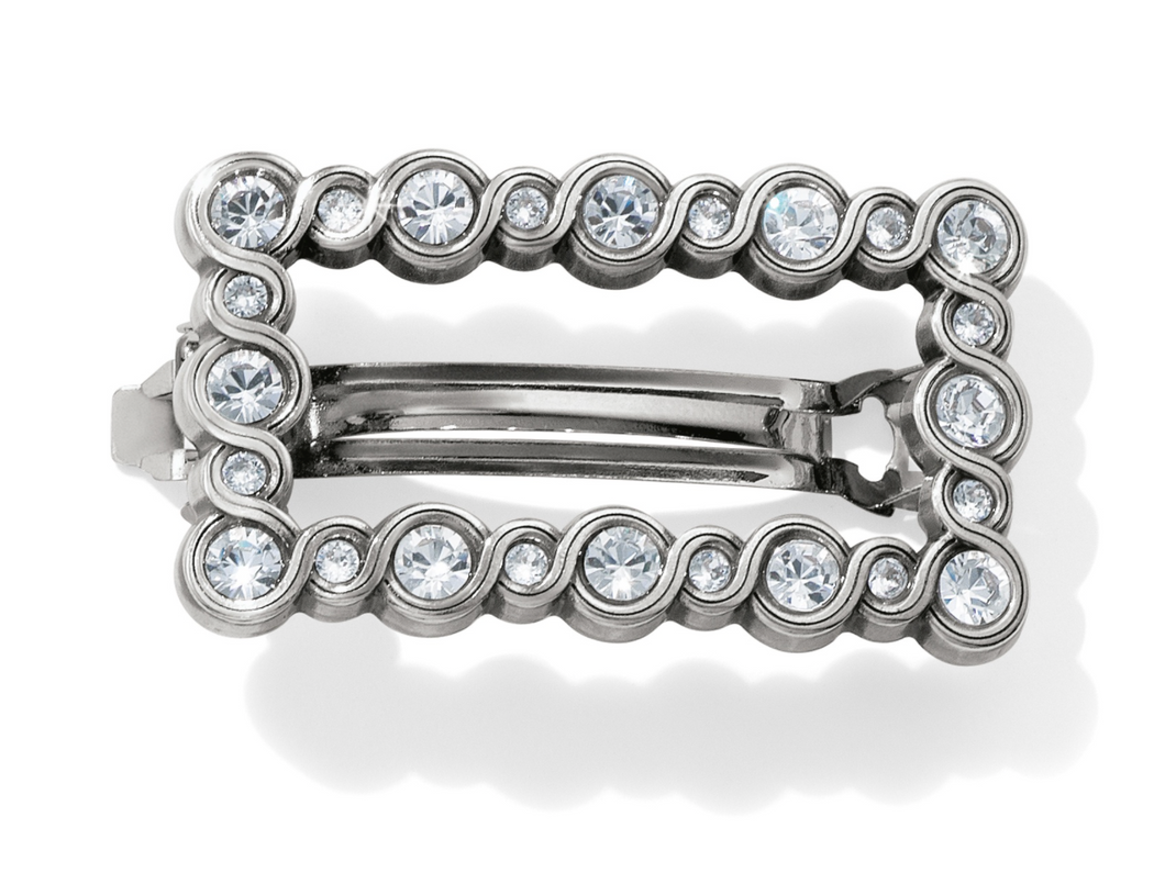 Brighton Infinity Sparkle Small Barrette