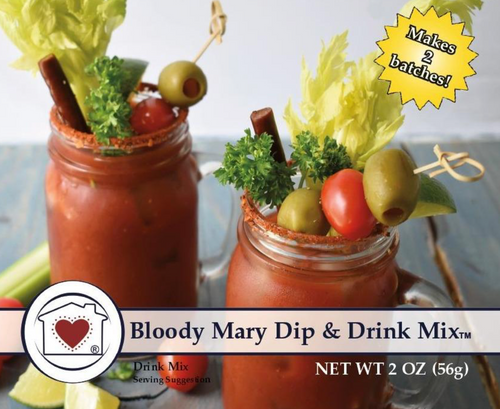 **NEW** Bloody Mary Dip & Drink Mix