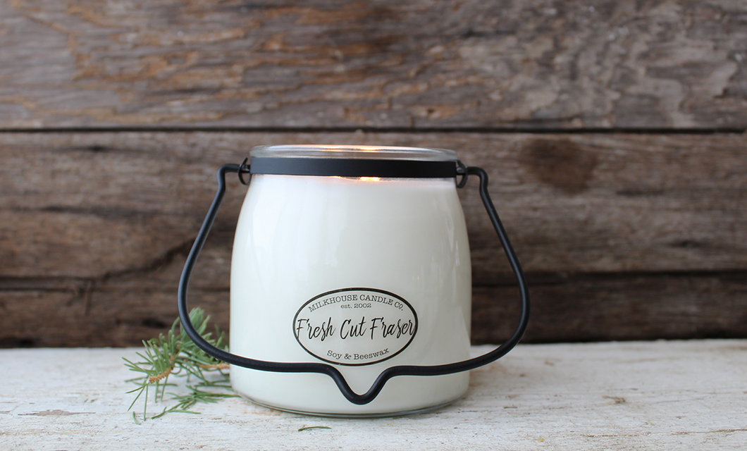 Milkhouse Butter Jar Fresh Cut Fraser Candle