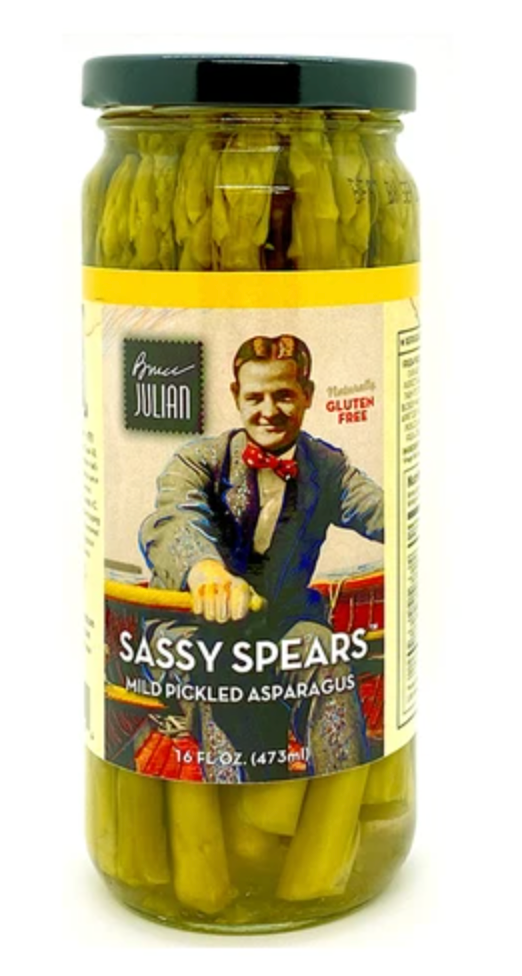 Sassy Spears Mild Pickled Asparagus