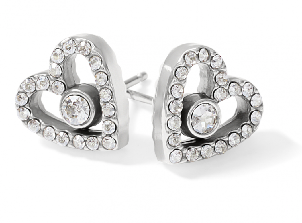 **NEW** Brighton Illumina Love Post Earrings